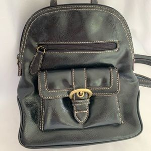 Cute small black Nine West backpack